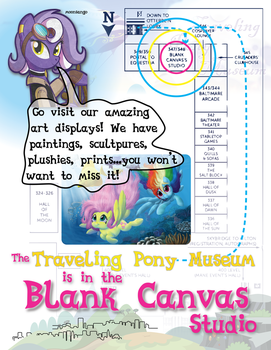 Traveling Pony Museum at BronyCon2013 by InkyNotebook