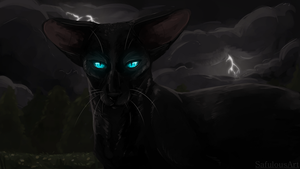 Crowfeather + speedpaint by SafulousArt