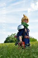 Cloud Strife Cosplay by Malindachan