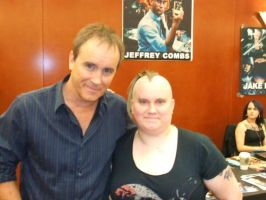 Me and Jeffrey Combs 2 by FrauLindemann