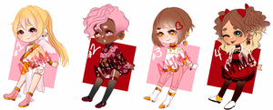 [OPEN][Set price] Valentines Adopts (1 and 3 left) by An1m4