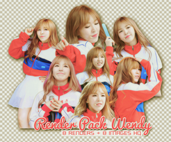 PACK PNG WENDY @150912 MUSIC CORE by victorhwang