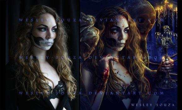 Special Night to Kill -  before and after by Wesley-Souza