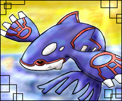 Kyogre and yadayada by Meant2BeGone