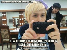 When Dongwoon is all alone.... by kawaiinightblossom