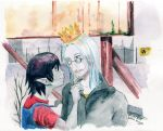 Marceline and Ice King by P-E-Umka