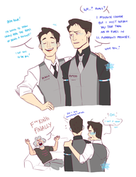 DBH: Connor doesn't got this in the bag by Usagiko-JOvi