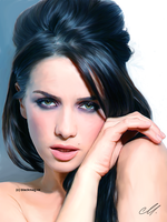 Natalia Oreiro sketch by perlaque