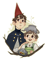 Wirt and Greg by charlottevevers