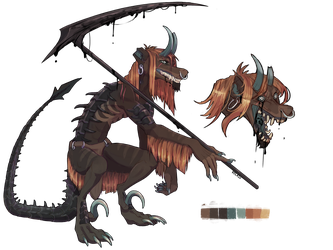 Grim Reaper Arcanus  AUCTION [CLOSED] by Velkss