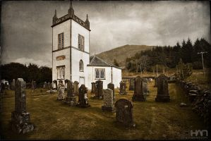 Cairndow Chruch by nahojsennah