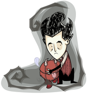 Don't Starve: Wilson and Chester by TheIronDragonBrigade