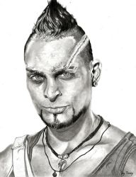 Far Cry 3 - Vaas Montenegro / Michael Mando by Trey619