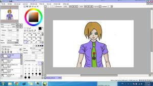 My First OC! (Redo)  W.I.P (Work In Progress) by Mordecai-Fan