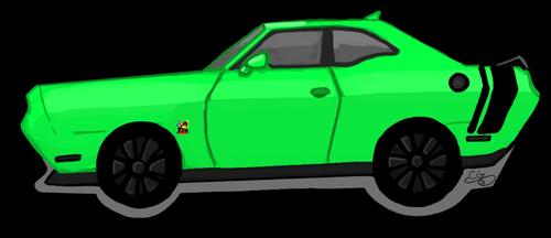 Drake Side View 2015 Dodge Challenger Scat Pack by Kittylover9399