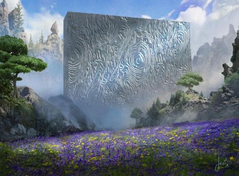 MTG-Jason Felix-Amaranthine Wall-01 by jason-felix