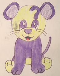 webkinz curious mouse drawing  by lpscat123