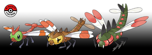 193 - 469 Yanma Line by InProgressPokemon