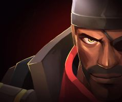 TF2 Demoman by biggreenpepper