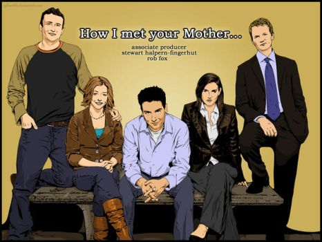 how i met your mother by gilbert86