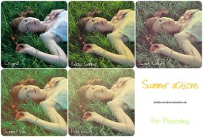 Summer actions by stardixa-resources