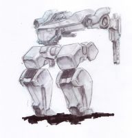 Copic Mecha Two by ModalMechanica