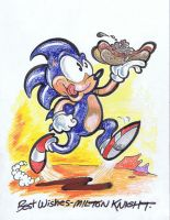 Sonic and Chili Dog by MiltonKnight