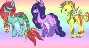Baby Fund OTA Ponies CLOSED by Butterfly-Aria