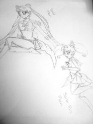 Sailor Moon Sailor Mini Moon by blessthefallxo