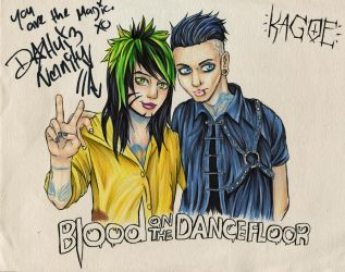 Blood On The Dance Floor : BOTDF by Kagoe