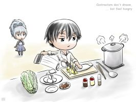 DTB : Hei is hungry [3/5] by Hyakuya