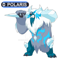 Commission: Polaris for pokefan-22 by Cerulebell