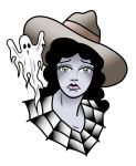 Johnny Vamp Ghost Girl by recipeforhaight