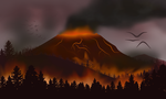 Flat Landscape Practice #3 - Impending Doom by amplifang765