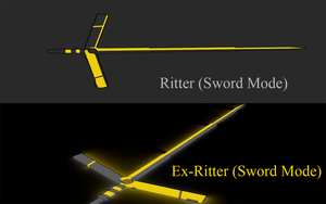 Ritter (Sword Mode/ Ex-Charged) by Accel-Phoenix