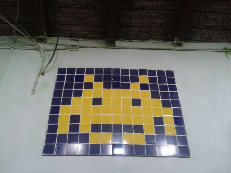 SPACE INVADERS by PiXelYz