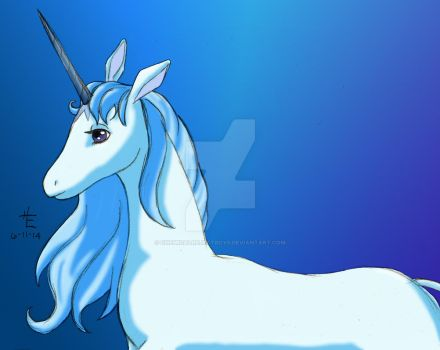 The Last Unicorn by ChemicalRejectBoys