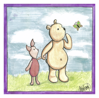 Winnie-the-Pooh and Piglet by SexyZexy