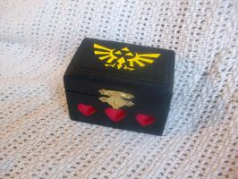 LoZ Royal-Hylian Crest Wooden box by ZombieBunnySlaya