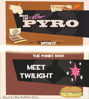 [Animation] Meet the Pinkie Pyro/Twilight Sniper! by SourceRabbit