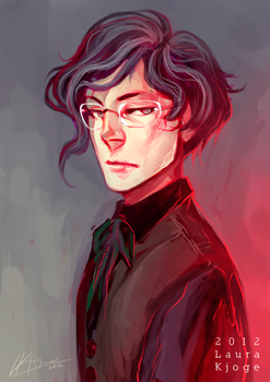 Adel w/ glasses by LauraKjoge