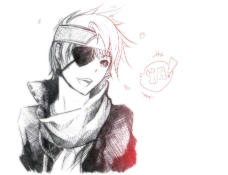 I Think i just drew Lavi again by XiaFei