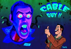 Cable Guy by Makinita