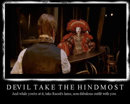 Devil Take the Hindmost by littlelivewire