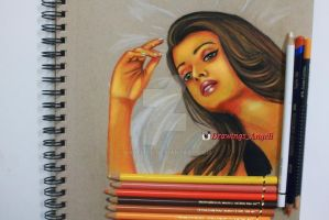 Aishwarya Rai by Angelii-D