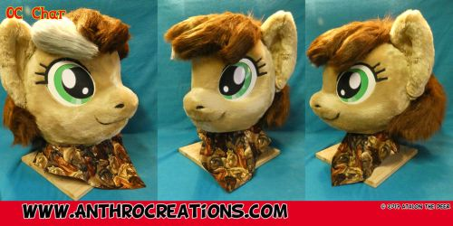 OC MLP Pony Fursuit Head by AtalontheDeer