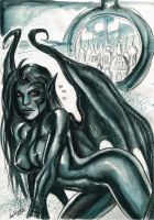 Succubus by CarolaFunder