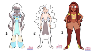 Gemsona Adoptable Batch 2 - closed by BirdMum-Adopts