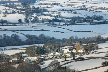 Peter Tavy Snowfall by Alex37