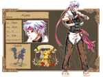 Crystal Tales secondary OC: Ayato by Fortranica